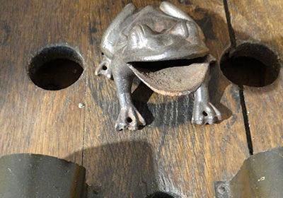Jeu de la grenouille