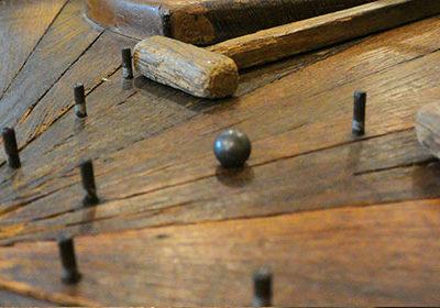 Le jeu des petits marteaux ou hamertjespeel