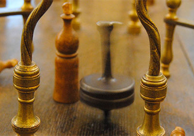 Table à toupie – toupie hollandaise ou toptafel
